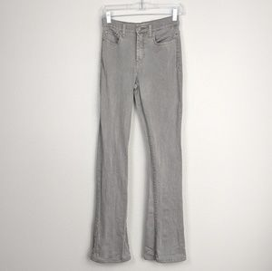 Henry & Belle High Waisted Micro Flare Gray Jeans
